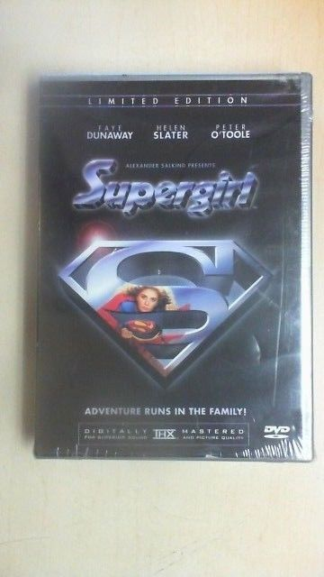 NEW Supergirl DVD Limited Edition #16632 of 50000 Helen Slater NEW SEALED B2D3