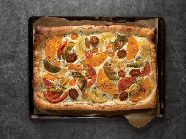 Tomato Tart Recipe From 'The Beekman 1802 Heirloom Vegetable Cookbook' - Serious Eats: Cook The Book