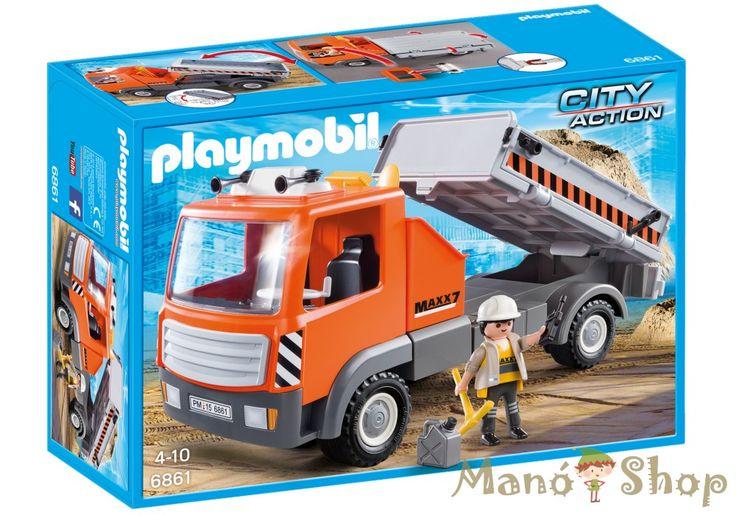 Playmobil Építőanyag szállítás 6861
