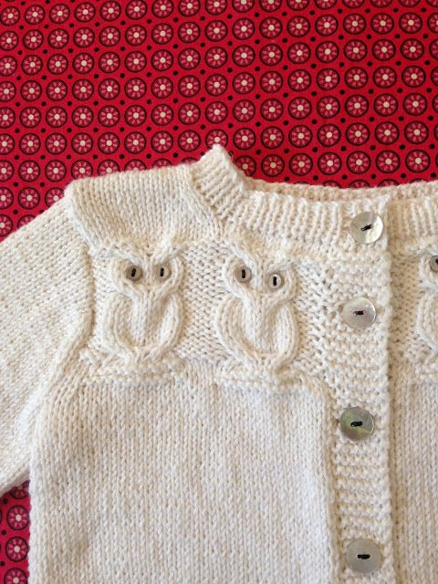 Free Knitting Pattern For Owl Sweater : Knitionary: baby, its you Vetements et accessoires a porter Pinterest P...