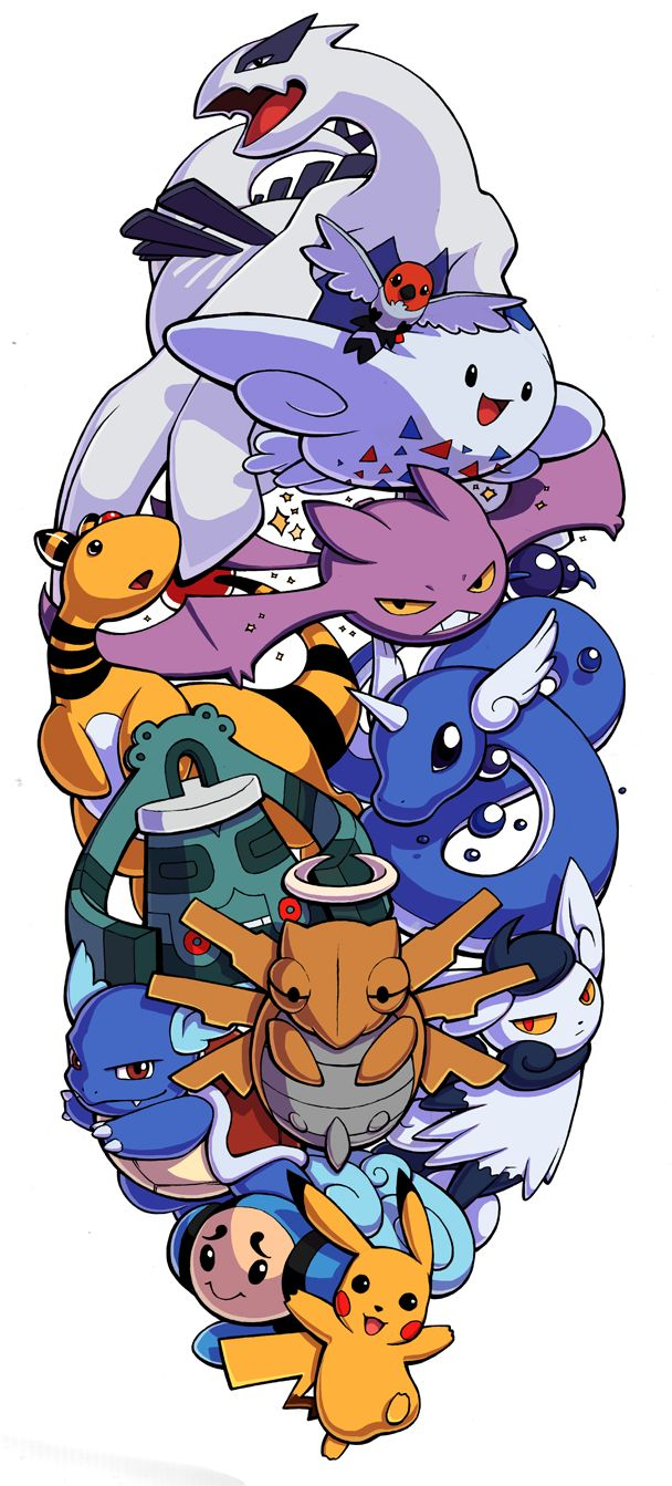 Pokemon Sleeve 5 by H0lyhandgrenade