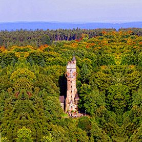 Spiegelslustturm, Kaiser Wilhelm Turm, Marburg, Germany