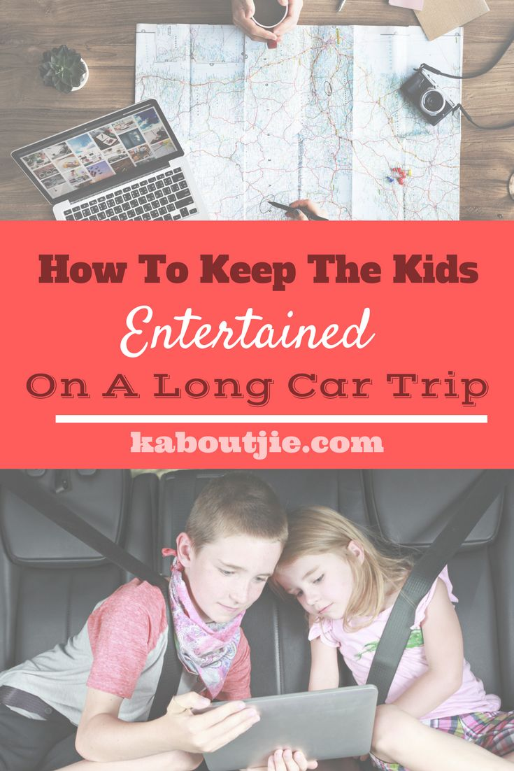 How To Keep The Kids Entertained On A Long Car Trip    Everyone just loves a family getaway but when you have a long trip ahead of you with young children in the car it can go very wrong! You need to carefully plan your trip and accommodate for restless children.  Here's how to keep the kids entertained on a long car trip.    #guestpost #roadtrip #familyroadtrip