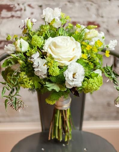 44 best images about green wedding on pinterest marriage for A lot of different flowers make a bouquet