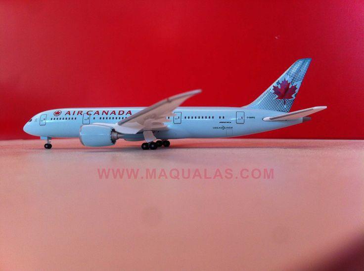 Boeing 787-8 Dreamliner a escala 1:500 de Herpa