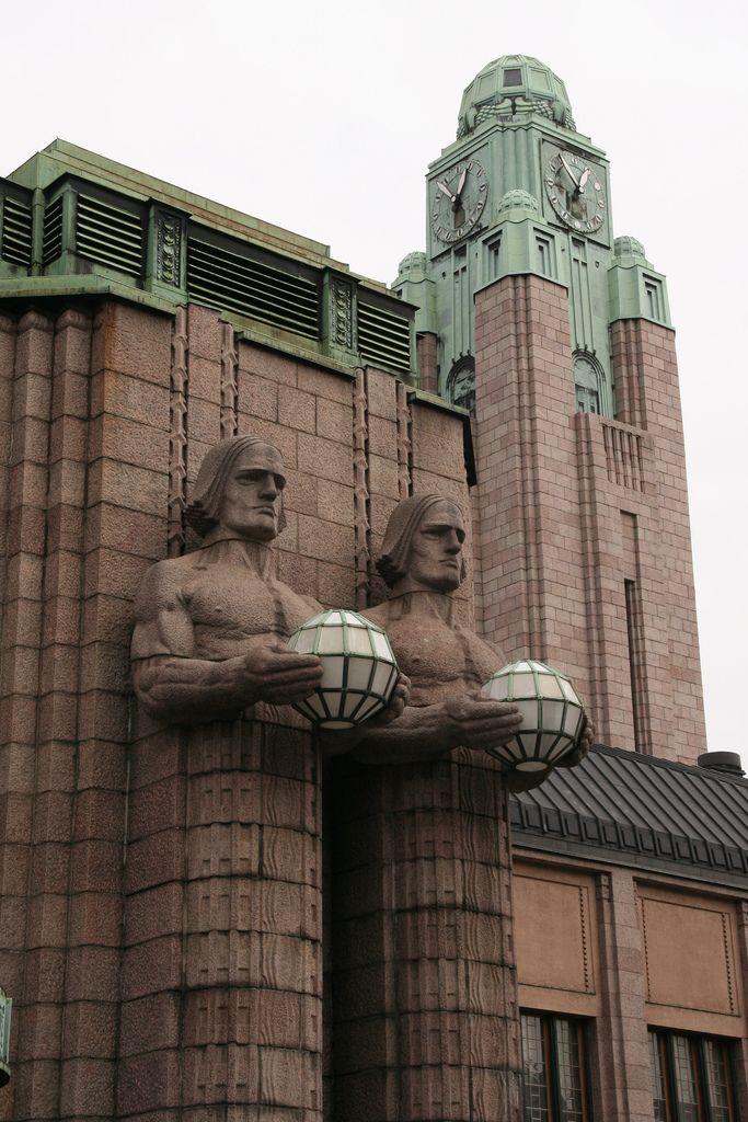 Central train station in Helsinki IV