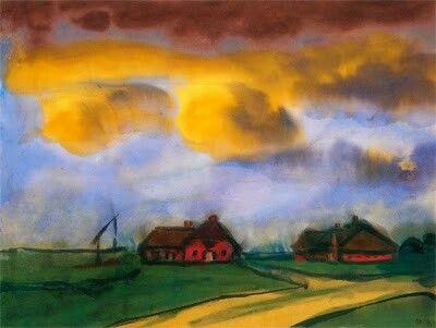 Landschaftsmalerei expressionismus nolde  2453 besten Emil Nolde Bilder auf Pinterest   Emil nolde ...