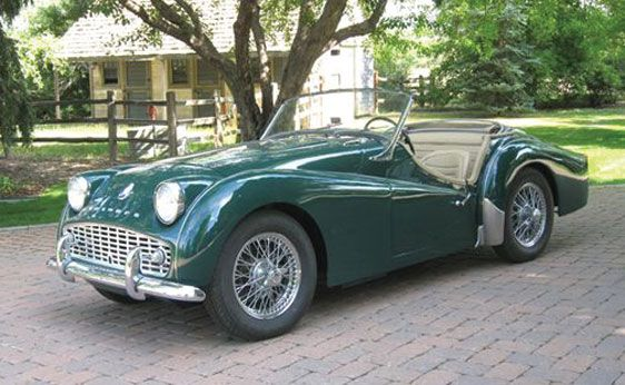 Triumph TR3A (2)  - i want one just like TinTin's!