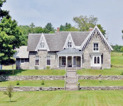 322 Best Stone Architecture Of New England Quebec Images On