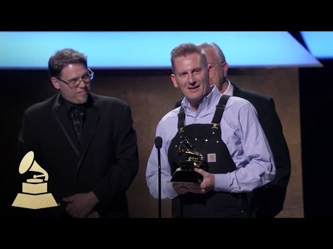 Joey + Rory Wins Best Roots Gospel Album | Acceptance Speech | 59th GRAMMYs - YouTube
