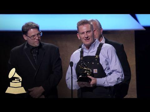 Joey + Rory Wins Best Roots Gospel Album   Acceptance Speech   59th GRAMMYs - YouTube