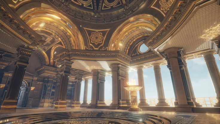 Final Year Project-Summit of the immortals: My proposal for the final year project was to create a game environment within Unreal Engine 4, based on Mount Olympus from the Greek mythology. My primary objective was to have a complete fly-through of the environment showcased through numerous beauty shots and video.