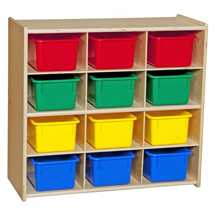 Wood Designs Contender Baltic Birch 12 Cubby Storage Unit - When your play room storage unit is as awesome as the Wood Designs Contender Baltic Birch 12 Cubby Storage Unit , clean up time is (almost) as fun...  Lower price at http://www.houzz.com/photos/43512661/Contender-Baltic-Birch-12-Cubby-Storage-Unit-WithOut-Tubs-Unassembled-transitional-toy-organizers