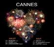 Festival d'Art Pyrotechnique de Cannes - Calendrier