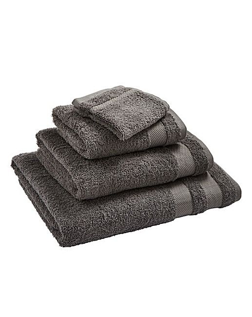Egyptian Cotton Towel Range Steel Grey | Home Beauty & Gift Shop