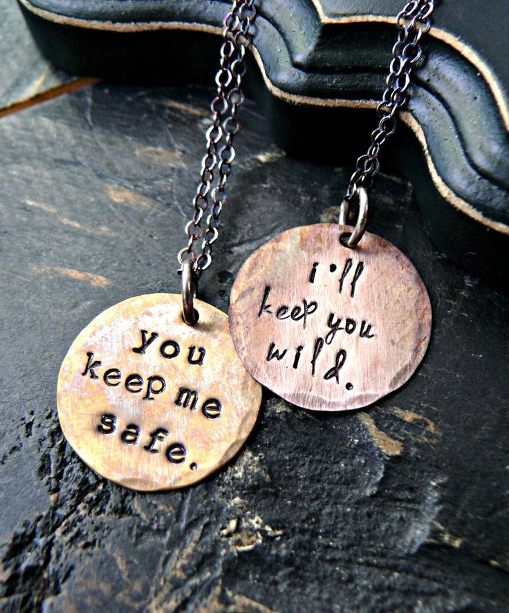 Hand Stamped Matching Sister Necklaces, Soul Sister, Soul Sister Jewelry, Soul Sister Necklace, Best Friend Necklace, Sister Necklaces by yourcharmedlife on Etsy