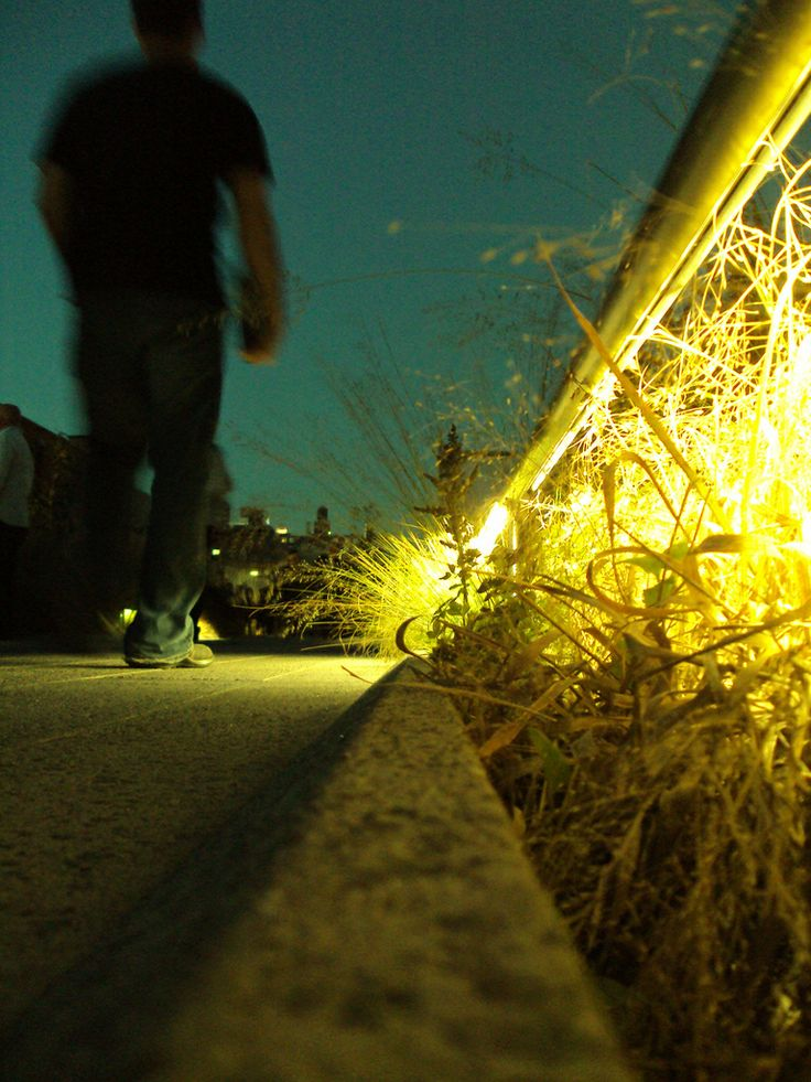 The Highline (New York City), NYphotography by: E.R.P. Elschott (Avenue '86 - creative design workshop) #avenue86 #photography #focus #detail #night #light #verlichting #park #thehighline #highline #nyc #newyork #landscapearchitecture #urbandesign #landschapsarchitectuur