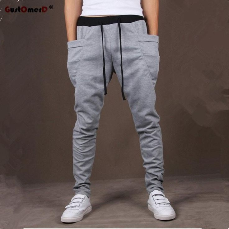Pocket Mens Joggers Cargo Men Pants Sweatpants Harem Pants Men Jogger Pants Men