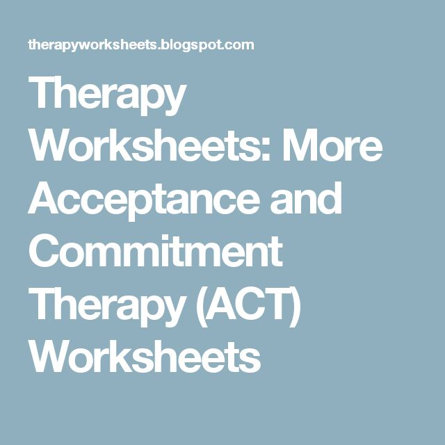 50 best images about Acceptance and Commitment Therapy on – Act Therapy Worksheets