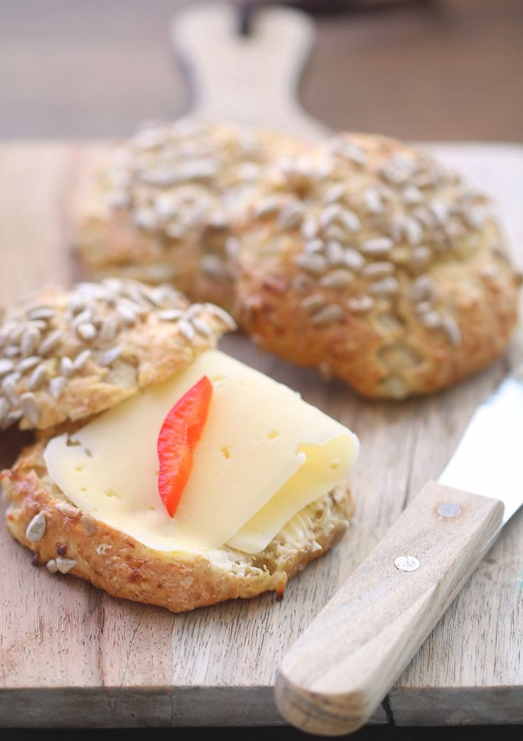Cottage cheese-rundstykker | Sunnere Livsstil