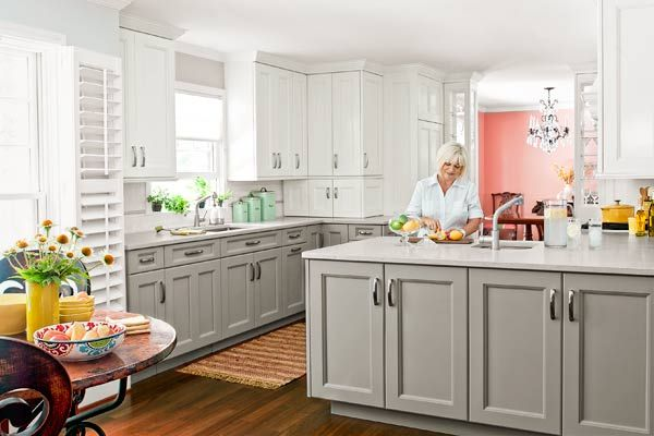 Once too cramped for cooking, this now spacious and beautifully functional kitchen is a chef's delight. | Photo: Helen Norman | thisoldhouse.com