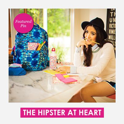 Are you The Hipster at Heart this year? Featured Pin! #KiplingSweeps #KiplingSweeps