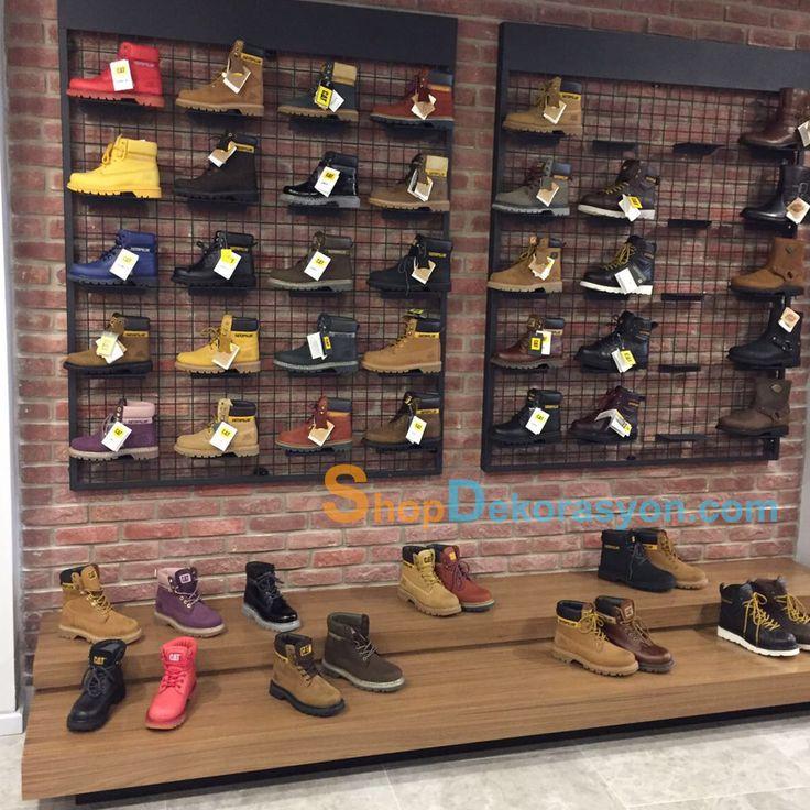ayakkabı mağazası rafı KML805 11