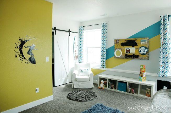 Little boys vintage surf room » Household No.6