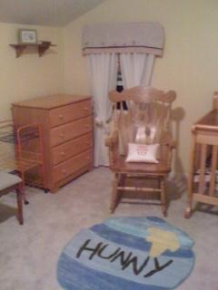 Classic Pooh Nursery With Honey Oak Furniture Kid Stuff