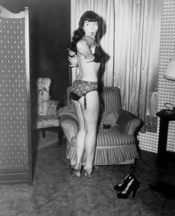 ❤️ Bettie Page
