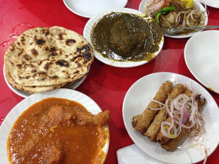 India food tour, yum!