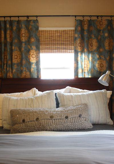 Best 25 Window Behind Bed Ideas On Pinterest