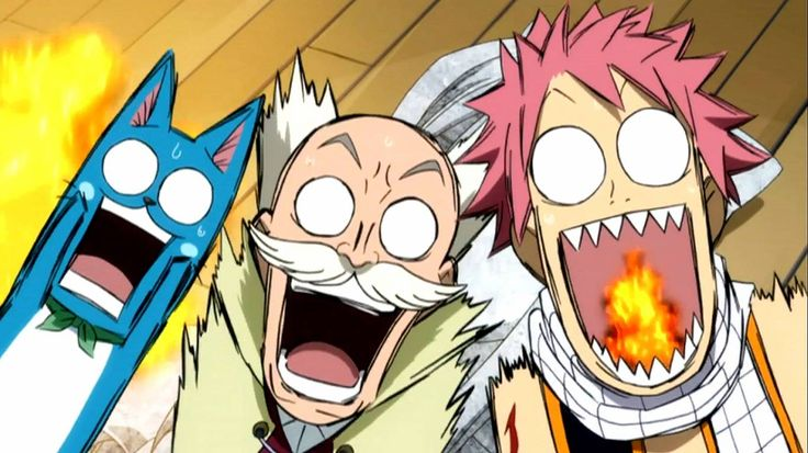 happy makarov and natsu - Fairy Tail Picture