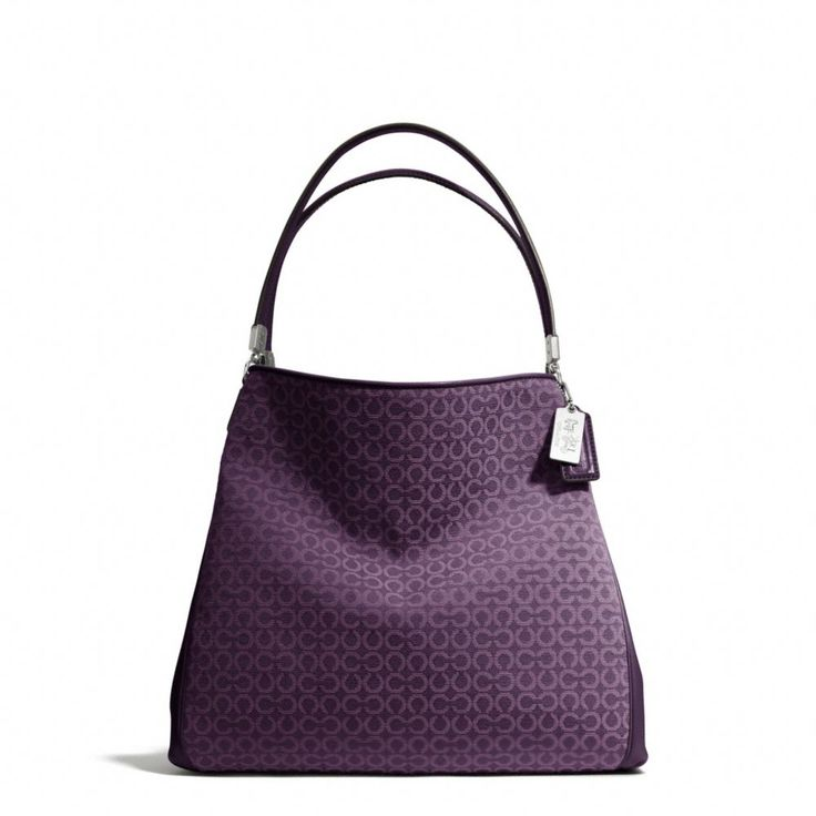 The Madison Small Phoebe Shoulder Bag In Op Art Needlepoint Fabric from Coach
