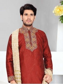 Red Color Kurta