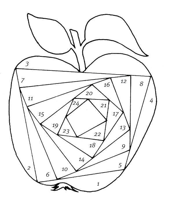 Объемные открытки яблоки