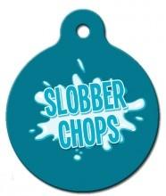 Slobber Chops Dog ID Tag http://www.wagatudetags.com/slobber-chops-dog-id-tag/