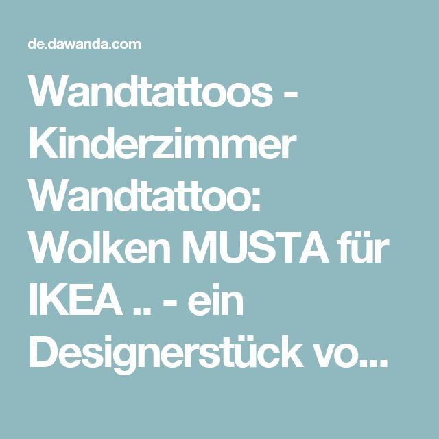 Wandtattoos - Kinderzimmer Wandtattoo: Wolken MUSTA für IKEA .. - ein Designerstück von Limmaland bei DaWanda