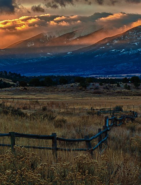 ~~Sangre De Cristo Sunrise ~ a spot just north of Salida, Colorado by Mike Berenson - Colorado Captures~~
