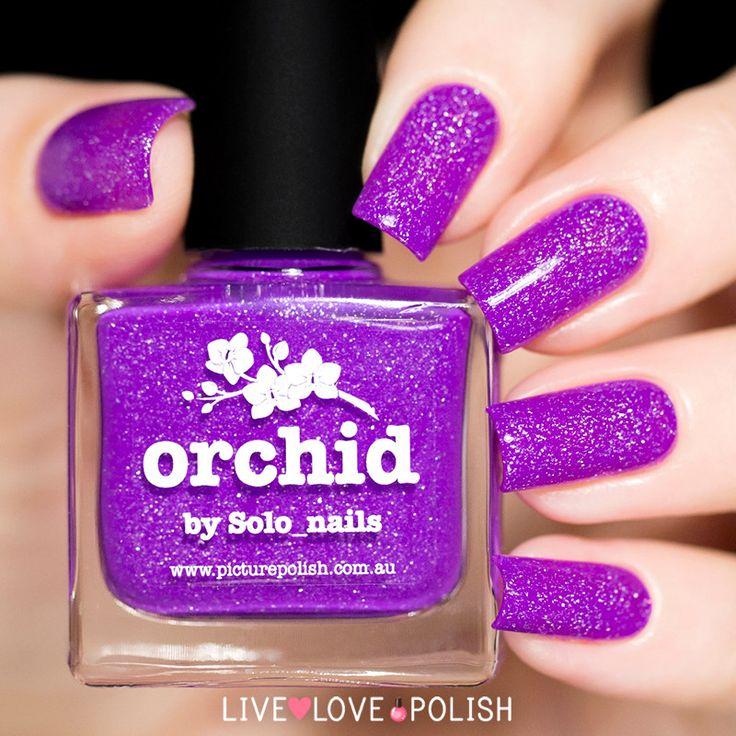 Picture Polish Orchid Nail Polish