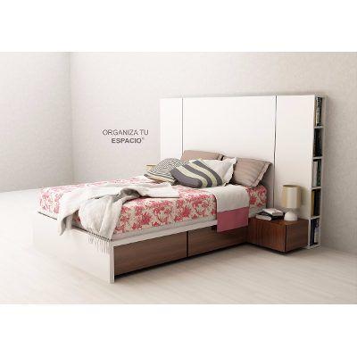 Cama 2 Plazas 4 Cajones Dormitorio Oferta Ote Muebles - $ 3.990,00 en Mercado Libre