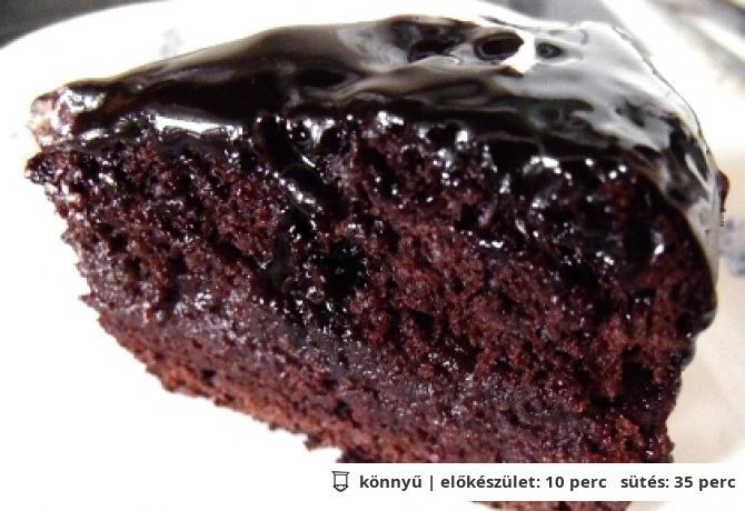 Meggyes vegán csokitorta