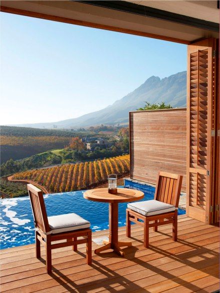 10 Hotels with a Vineyard View (Delaire Graff Lodge in Stellenbosch, South Africa)