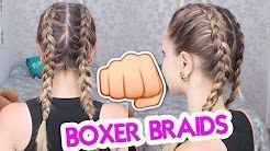 #boxeadora #boxer #boxerbraids #braids #de #Jana