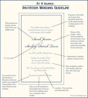 The 25 best formal invitation wording ideas on pinterest at a glance wedding invitation wording guideline stopboris Gallery
