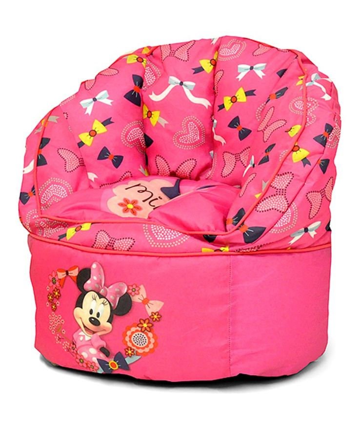 Take a look at this Minnie Mouse Toddler Bean Bag Chair today!