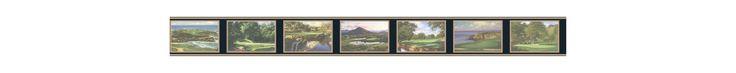 York Wallcoverings GF7116BD Border Book U.S. Courses Border Green Home Decor Wallpaper Borders