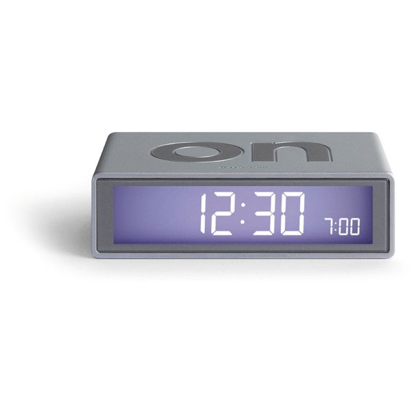 DesignWright Flip LCD Alarm Clock ($32) ❤ liked on Polyvore featuring home, home decor, clocks, filler, lcd clock, asian screens, lcd screen, digital alarm clock and led display screen
