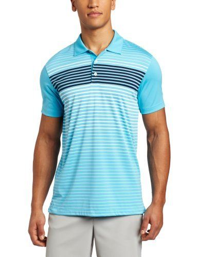 Puma Golf NA Men's Engineered Stripe Tech Polo Tee, Blue Atoll/White, X-Large by PUMA. $56.00. No need to hold your breath on the tee box. The all new Engineered Stripe Tech polo helps every swing breathe easy and stay smooth. Moisture wicking properties are inherent in the yarn; they draw sweat away from your skin and help keep you dry and comfortable through that back nine. And that nifty stripe? It's engineered to help make that torso-turn easy as pie.