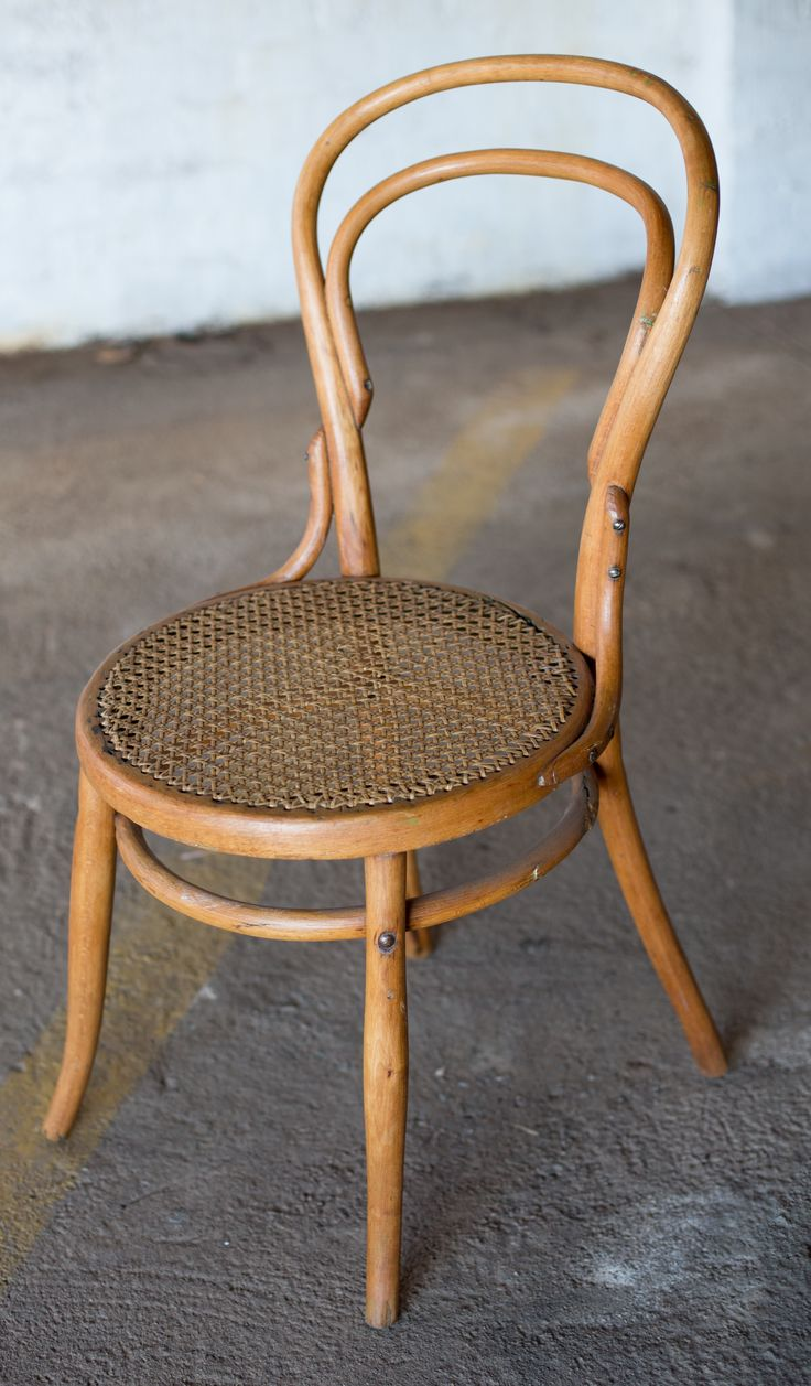 #NorthcliffAntiques The classic bentwood chair, Thonet's no.14 chair, made from beechwood with a cain base. #Johannesburg #Chairs #CottageFurniture #Bentwood
